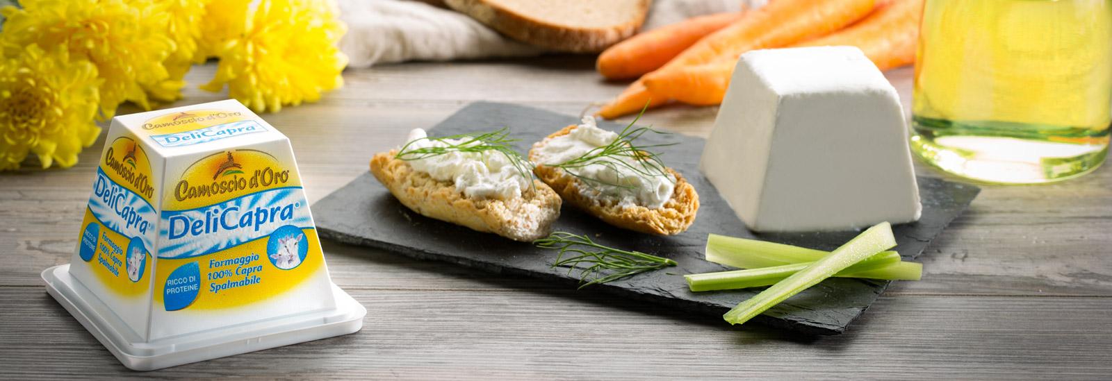 formaggio di capra DeliCapra Spalmabile