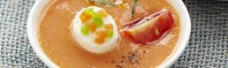 ricetta per aperitivo con gazpacho formaggio per aperitivo