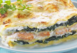 lasagne con formaggio di capra