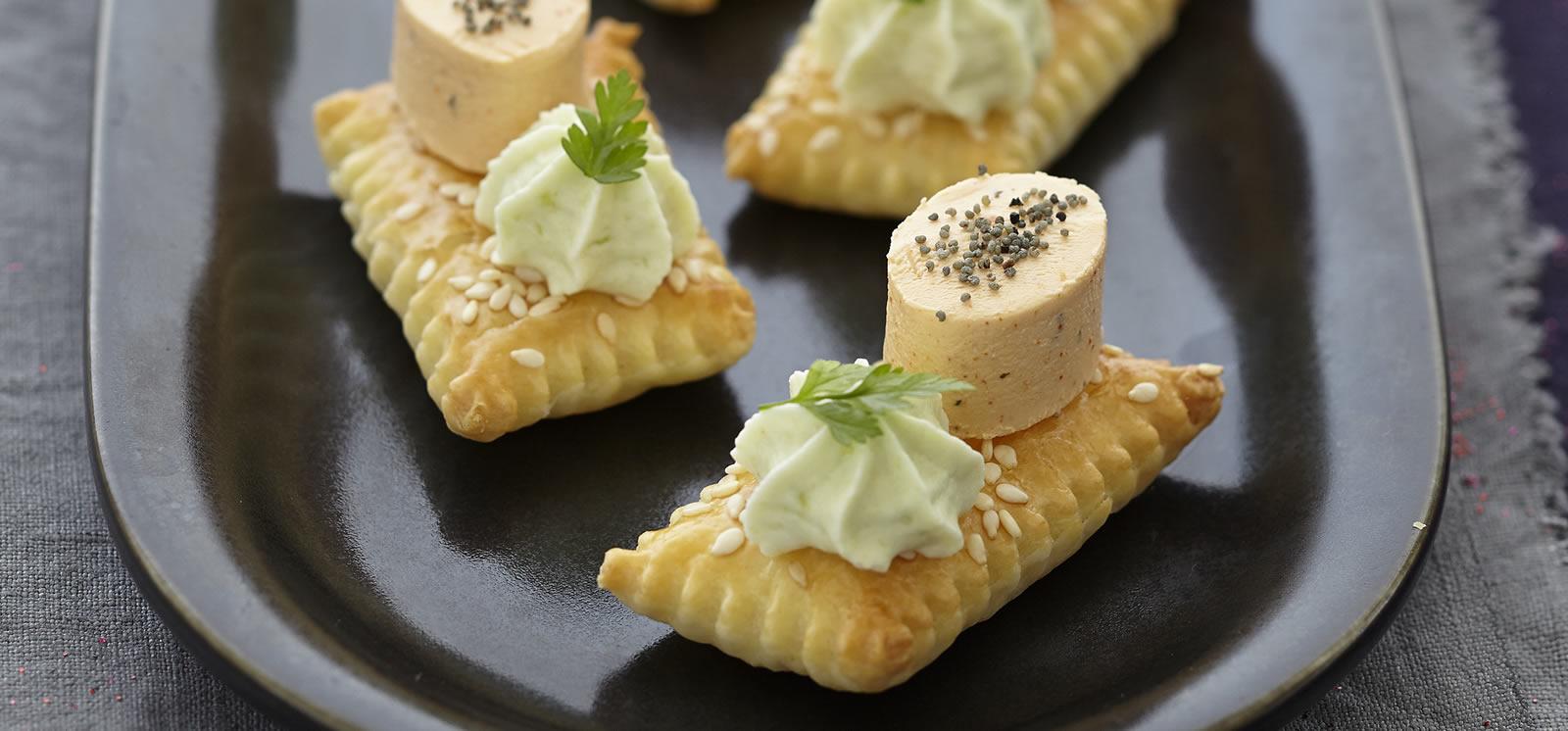 Ricetta per aperitivo con tartine formaggio per aperitivo
