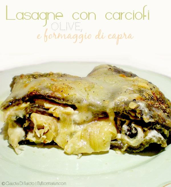 foto lasagna carciofi