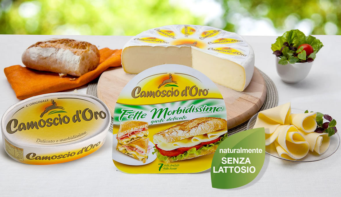 formaggio senza lattosio