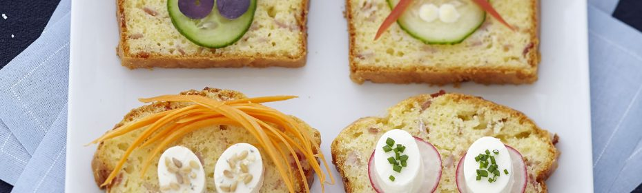 Aperitivo con torta salata-formaggio per aperitivo