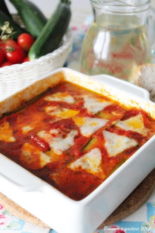 parmigiana zucchini e Fette Morbidissime